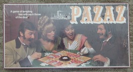 "VINTAGE 1978 PAZAZ ""SEALED""- A GAME OF TEMPTING FATE. E. S. LOWE NO. E28... - $12.50"