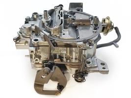 1904 Remanufactured Rochester Quadrajet Carburetor 4MV 80-89 Electric image 2