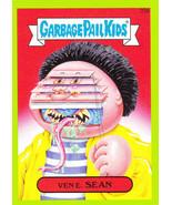 "2015 GARBAGE PAIL KIDS SERIES 1  GREEN BORDER ""VENE.SEAN"" #33a STICKER!! - $1.09"