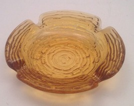 Vintage Anchor Hocking Soreno~ Small Amber Glas... - $6.76