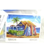 """Paint by Numbers DIY Painting Kit for Adults 16"""" x20"""", Surf Shack BK634 ... - $16.78"""