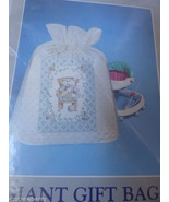CREATIVE PAPERS C.R. GIBSON GIANT PLASTIC GIFT BAG TIE ROPE TAG NEW 35.5x44 - $14.85