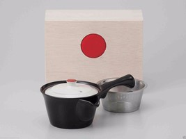 [Value] Hasami Porcelain : Kyusu tea pot w Stainless steel net (BLACK) w... - $102.85