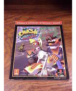 Crash Bandicoot Warped Prima Official Strategy Guide Book for Playstatio... - $6.95
