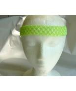 Lime Green Beaded Headband - $5.00