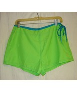 No Bounderies Low Rise Lime Green Hot Pants Shorts - Sz. M - $10.00