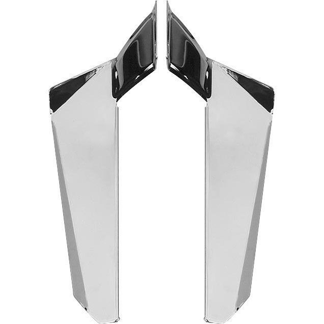 Chrome Lower Deflectors for Switchblade Windshield Honda VTX1800