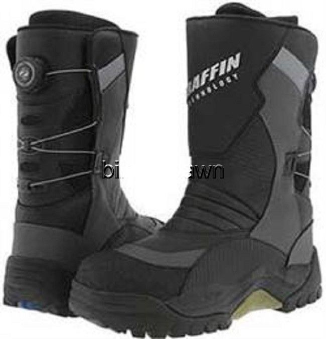 New Mens Size 14 Baffin Pivot BOA Snowmobile Winter Snow Boots Rated -94 F