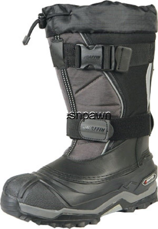 New Mens Size 8 Baffin Selkirk Snowmobile Winter Snow Boots Rated -94 F