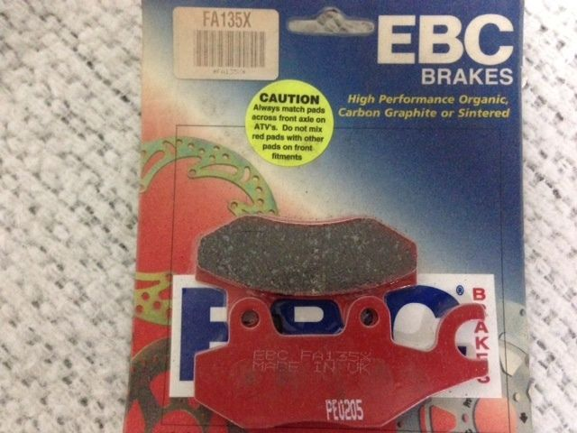New EBC FA135X High Performance Carbon Brake Pads