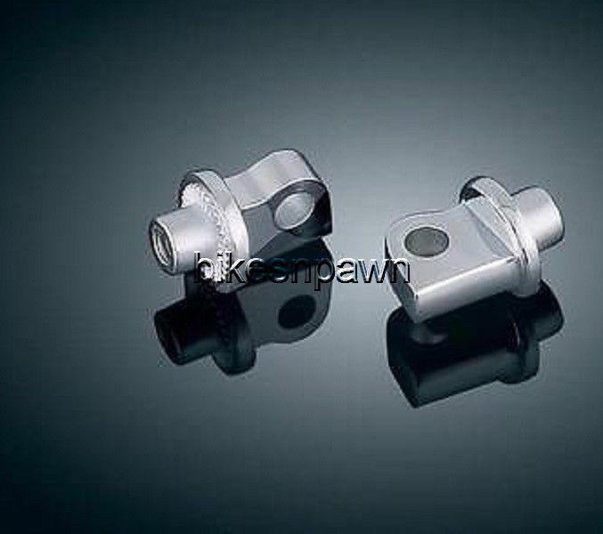 New Kuryakyn 8881 Splined Male Mount Adapters (set of 2)