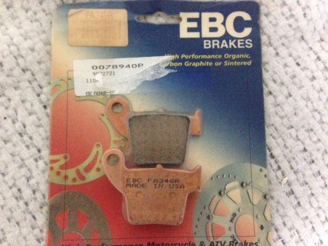 New EBC FA346R Long Life Sintered Brake Pads