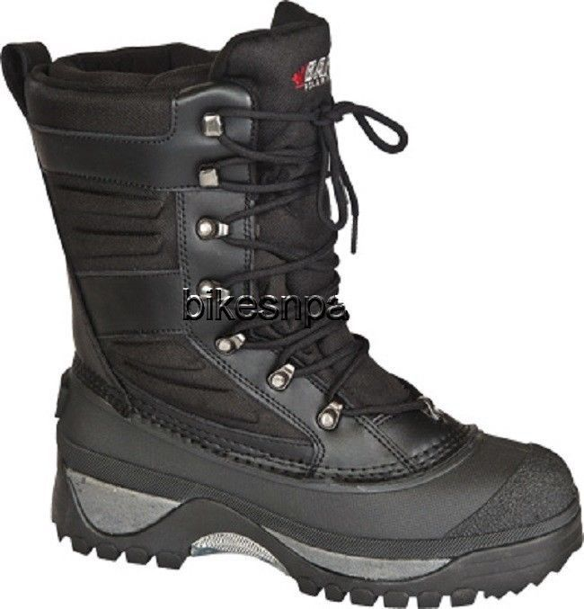New Mens Black Size 7 Baffin Crossfire Snowmobile Winter Snow Boots -40 F