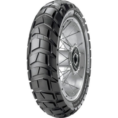 New Metzeler Karoo 3 Rear Tire 150/70-17 TL 69R M+S Dual Sport