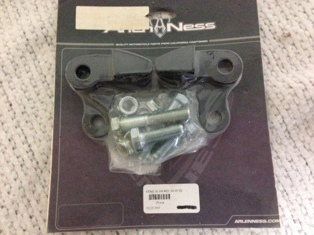 Close Out - New Arlen Ness Slam Lowering Kit Harley 89-99 Sportster XL