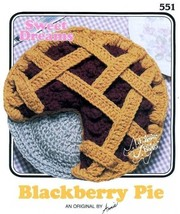 X339 Crochet PATTERN ONLY Annies Attic Sweet Dreams Blackberry Pie Black... - $10.50