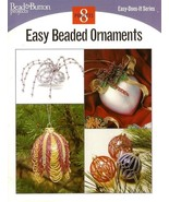 X860 Bead PATTERN Book ONLY Easy Beaded Ornaments Covers Christmas Rare - $50.50