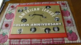 Vintage  Original   1951   Mlb   American  League   Golden  Anniversary  Program - $49.99