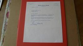 1964  BARRY  GOLDWATER   SIGNED   LETTER   U.S.  SENATE  LETTERHEAD  W/ ... - $99.99