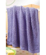 Y817 Crochet PATTERN ONLY Blueberry Texture Bab... - $6.45