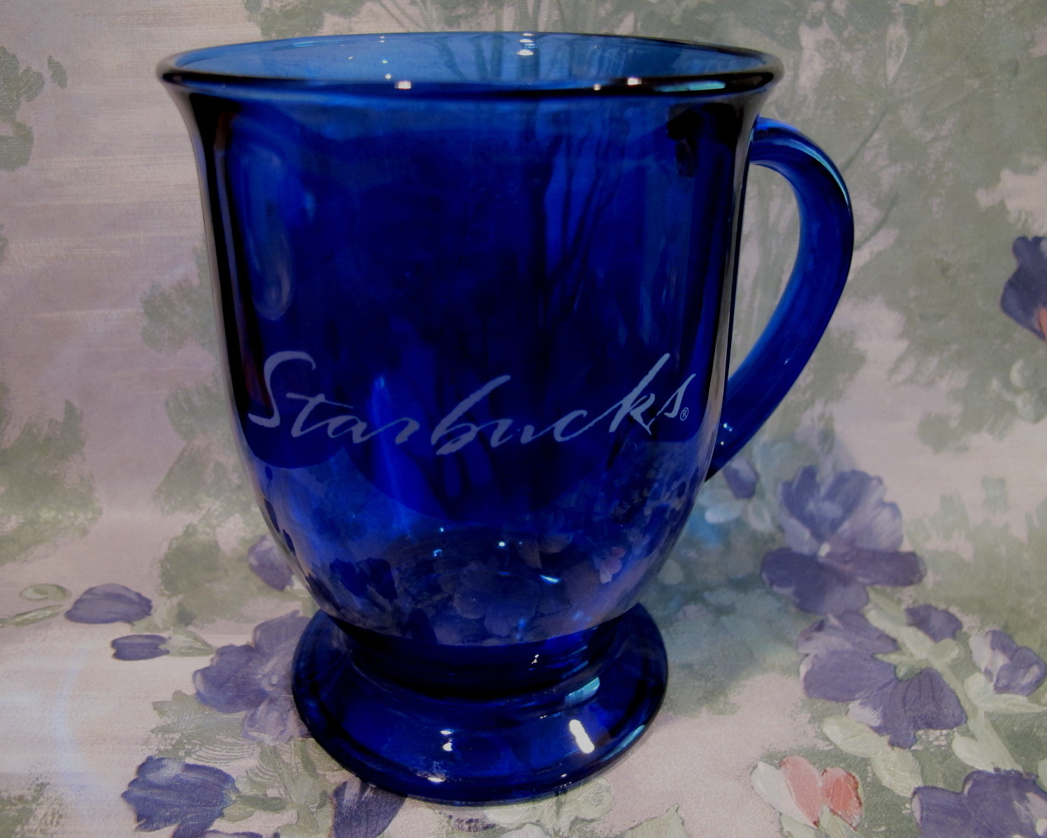 Starbucks Coffee Mug Cup Cobalt Blue Footed and 50 similar items
