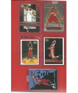 2003/4   LeBRON  JAMES   ROOKIES   5  DIFFERENT  CARDS  TOTAL    NEAR  MINT   !! - $29.99