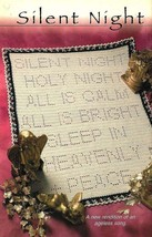 X391 Filet Crochet PATTERN ONLY Silent Night Afghan Pattern - $10.50