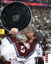 Patrick Roy 2001 Stanley Cup Colorado Avalanche Vintage 8X10 Color Hocke... - $4.99