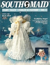 X811 Crochet PATTERN Book ONLY Fairy Tales Fables & Fantasy #1 Toothfair... - $16.50