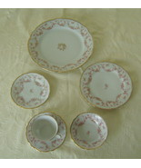6 Piece Place Setting, Elegant Bavarian China, ... - $60.00