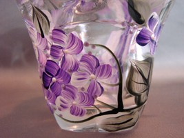 Hand Painted, Signed Tulip Votive Candle Holder New  image 4