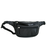 Genuine Leather Waist Pouch, Fanny Pack, Unisex... - $29.99