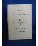Signed on Plate The Tipping Point: How Little Things Can Make a Big Diff... - $8.49