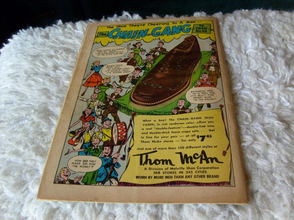 1952   FOX  +  THE  CROW   # 56    REAL  SCREEN  COMICS    !!