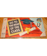 GO TO THE HEAD OF THE CLASS SERIES 12 GAME 1965 MILTON BRADLEY COMPLETE ... - $25.00