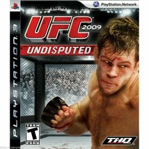 UFC Undisputed 2009 - PlayStation 3 PS3 - Manual included - $5.83