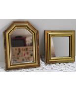 Vintage BURWOOD PRODUCT CO. Gold Frame Mirror Set - $10.00