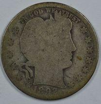 1892 O Barber circulated silver quarter - $15.00