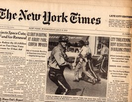 The New York Times July 8.1970 - $5.95