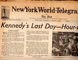 New York World-Telegram & The Sun Thursday, January 2, 1964 - $4.90