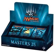 "Magic the Gathering ""Masters 25"" Factory Sealed Booster Box MTG Card Gam... - $202.33"