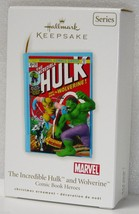 2010 Hallmark Keepsake COMIC BOOK HEROES WOLVERINE HULK 3rd in Series NEW - $37.72