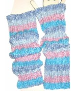 Knitted Striped Leg Warmers or Arm Warmers for Yoga, Dance, or Apparel - $35.00