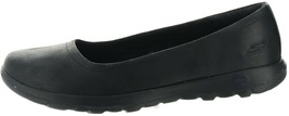 Skechers GO Walk Lite Slip-On Shoes Gem Black 8M NEW A347418 - $55.42