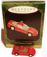 1997 Hallmark 1997 Miniature Corvette ~ Red ~ MIB - $9.00