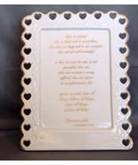 """Papel  Porcelain """"1 Corinthians 13:4-8 Love is ..."""" Stand Alone Plaque - $14.99"""