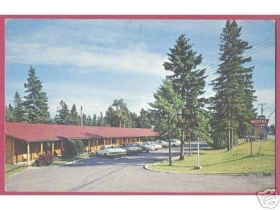 Primary image for ST IGNACE MICHIGAN Pines Motel Verbouw Cars UP