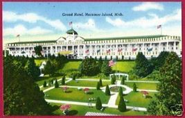 MACKINAC ISLAND MICHIGAN Grand Hotel Benjamin - $4.50