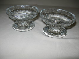 Crystal Clear Glass Home Interior 2 Way Candle Stick Holders & Candle Holders Qt - $12.95