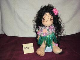 "precious moments hawaiian LEILANI  Doll 14"" - $14.99"